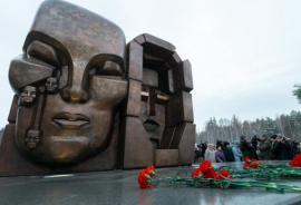В память о жертвах репрессий 30–50 годов